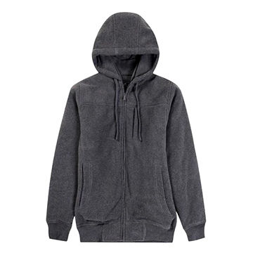 Men's Hoodie, Made of 100% Polyester, Various Colors are Available