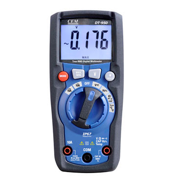China Digital Multimeter, IP67 waterproof