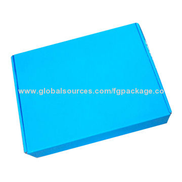 China Color printing folding corrugated box for shoes