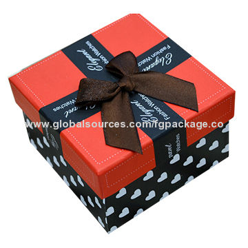 China 5cm height paper box for watch and jewelry