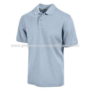China custom make no brand polyester cotton polo shirt on for Custom polyester polo shirts