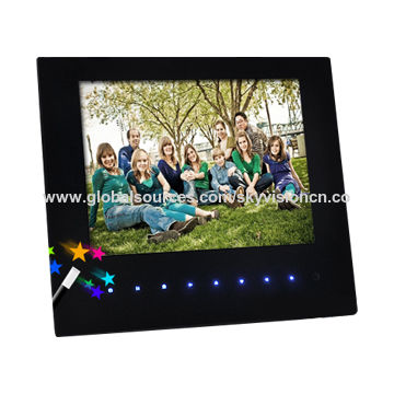 China 8 Inch Supper Thin Digital Photo Frame From Shenzhen