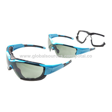 Sunglasses for Frame can be half rim or add foam pad