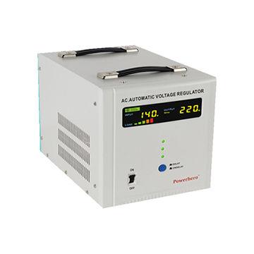 8K hybrid automatic voltage regulator with servo-motor type&relay type AVR