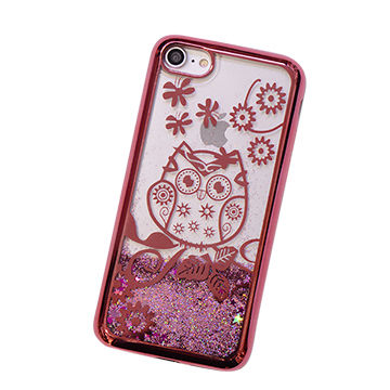 China Eletroplated glitter phone case
