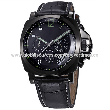 2017 Black Stainless Steel Watch, Men's Mechanical Watch, Automatic Watch