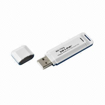 China Wireless Adapter, 150Mbps Wireless Transmission Rate, Infrastructure and Ad-Hoc