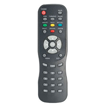 China DVB/DVR Remote Control with Nice Design and Clear Button Layout