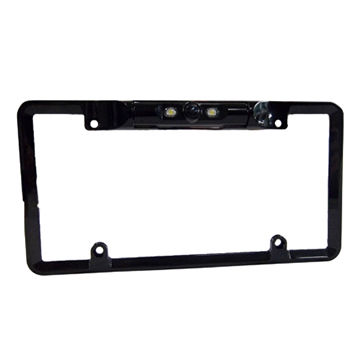 China License Plate Rearview Camera with OV7950 Sensor, 170 Degrees Viewing Angle, Suitable for Cars/SUVs
