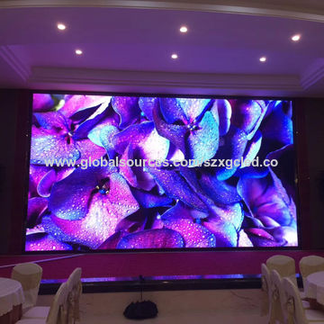 China Super clear panel P2 RGB SMD indoor full color LED display screen module price in India