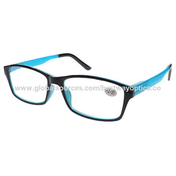 Fashionable Reading Glasses, Power Range of 1.00 to 4.00D, Available in Various Colors