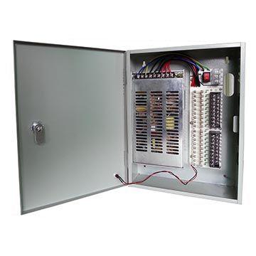 12V 20A 18-channel CCTV power box