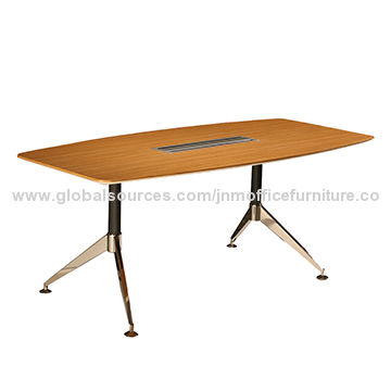 China Stylish meeting table with stainless base