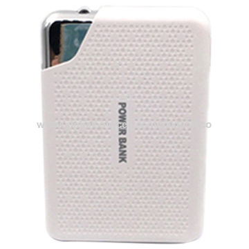 Power bank 6600mAh double USB output portable charger for mobile phones, smart phones