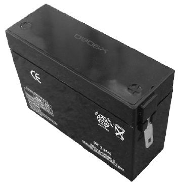 General Battery Sealed Lead-acid Battery, Measuring 76 x 26 x 53mm
