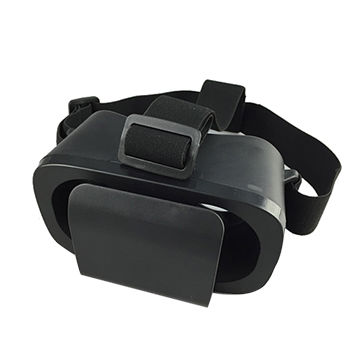 China Cheapest Head-mounted Mobile VR Headset, Shenzhen, 3D Play, Video, Movie, Game