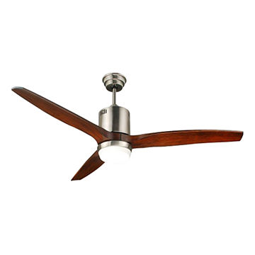 52'' DC CEILING FAN 3 BLADES WITH SINGLE LIGHT(LED)