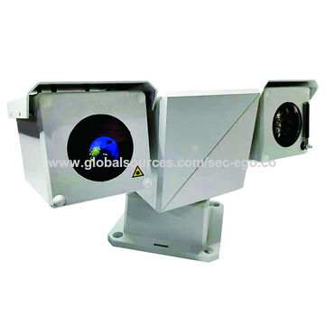 2Km Laser thermal PTZ Camera with LRAD system interface