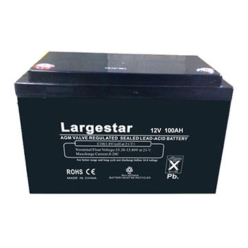 Deep Cycle VRLA Auto Battery Solar Battery Gel Battery, 12V/100Ah