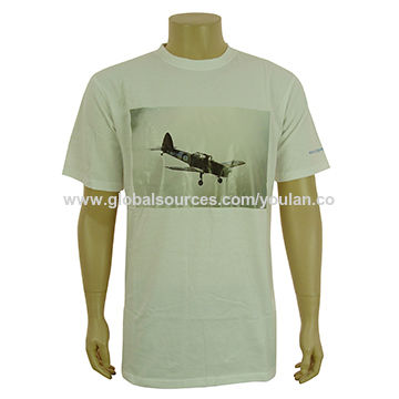 Men's short sleeve t-shirts, made of 100% cotton, Jameson logo, passed UL inspection