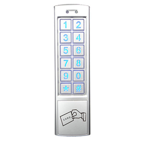 Access control system, metal stand alone keypad,reader
