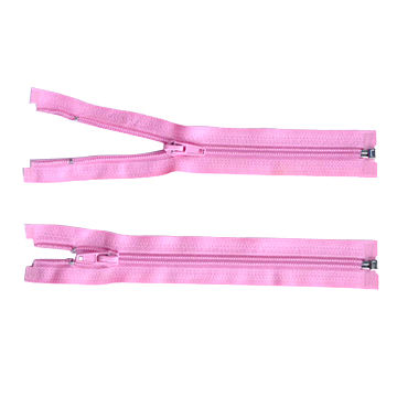 No 3, 5.7 close-end or open end zipper, with auto lock or ping lock slider, also in rolls, invisible