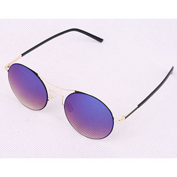 Unisex Stainless Steel Fashion Sunglasses