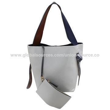 China PU leather handbags