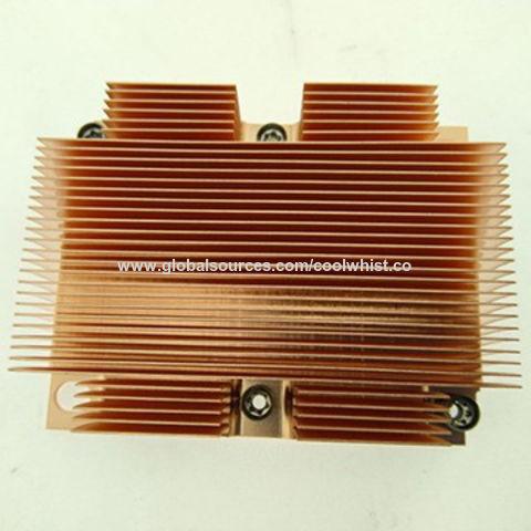 China Custom Cold Forged Black Anodized Aluminum LED Heat Sink