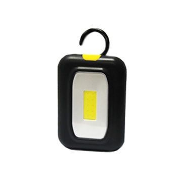 Working Lamp with 2W COB bulb, Requires 3 x AAA Batteries, ABS Plastic Housing
