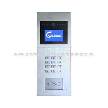 Touch button 3G wireless video door-phones