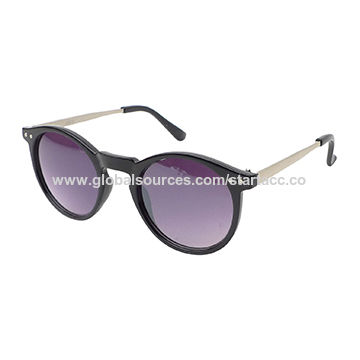 Unisex Sunglasses with Plastic Frame, UV 400 Protection Lens, OEM Orders are Welcome