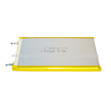 BIS Certified 3.7V Lithium-polymer Battery, 5000mAh for Power Bank
