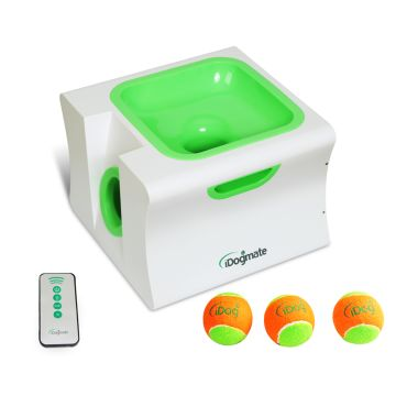 China IDogmate Midi Dog Ball Launcher Pet Ball Thrower Interactive Automatic Tennis Ball Launcher
