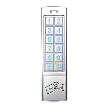 Access control system, metal stand alone keypad