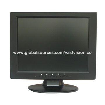 10.4-inch TFT LCD Monitor, VGA/RCA/HDMI Input
