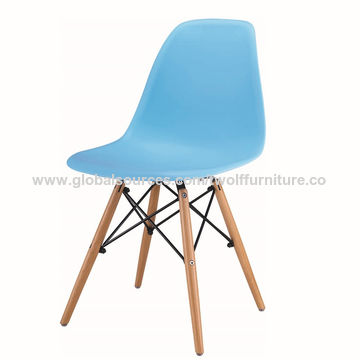 China Fancy wholesale white beach plastic chairs fabric chair