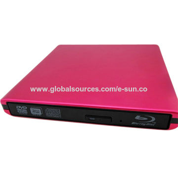 China ODP1201 laptop portable USB 2.0 12.7mm slim Blu-ray BD burner drive