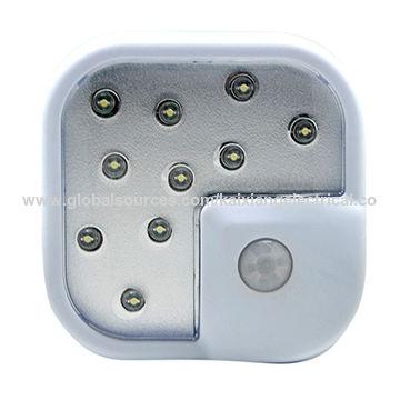China Hot selling waterproof wireless LED motion sensor light made in China