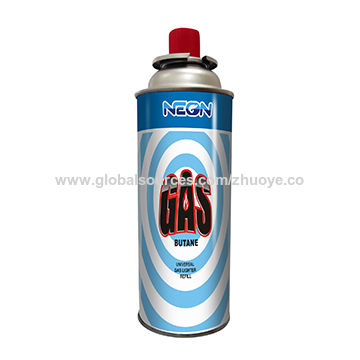 Butane gas for cooking