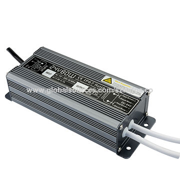 China Power Supply, LED Driver/24V/3.3A/80W/for Outdoor Lighting Applications/IP67 Waterproof Rating