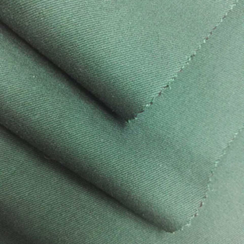 Wholesale green woven denim fabric