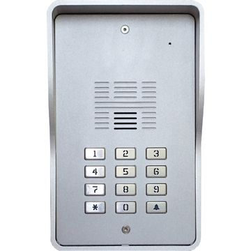 3G door intercom -12 keypad(multi user call) up to 200 numbers,smartphone applications works