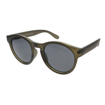 Plastic Sunglasses for Stylish Girls, Fashionable Design, CE and FDA-certified