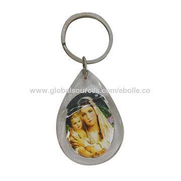 Acrylic Keychain with Custom Print Paper Insert Inside,Customized Printed are Available