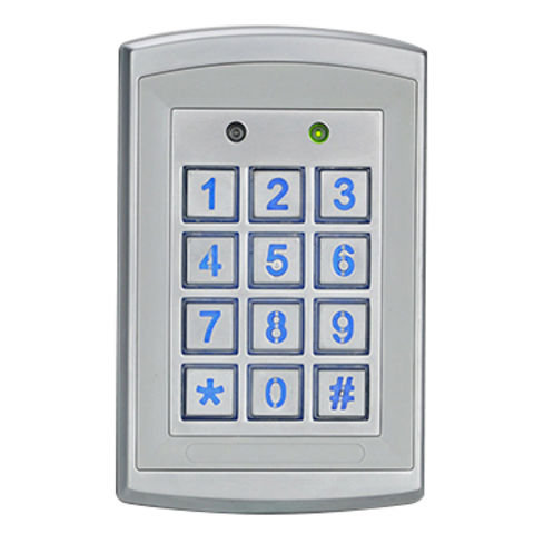 Standalone or Networked Access Control with 12V DC Output Voltage, Measures 120 x 76 x 22mm