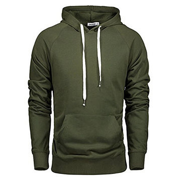 Men's Pullover Hoodie Soft and Comfy Fabric with Long Sleeve and Pocket