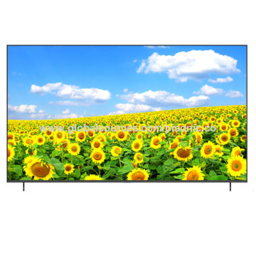 Hot 55 Inches LED 4K Smart TV in 2017 Ultra Slim Metal Frame and Tempering Glass