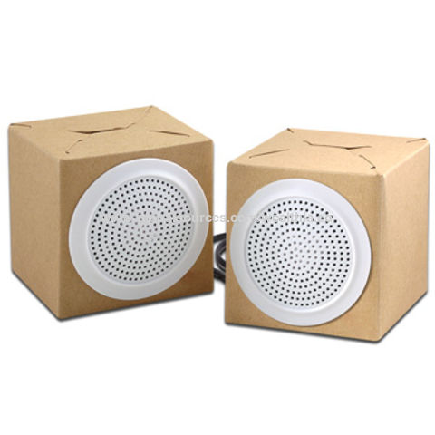 Hong Kong SAR Promotional Foldable Speaker Cardboard