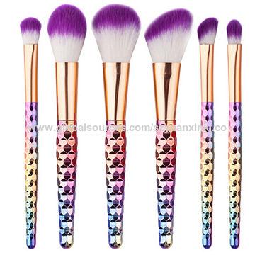 New Makeup Brush, Electroplating Makeup Brush, Cleansing Brush